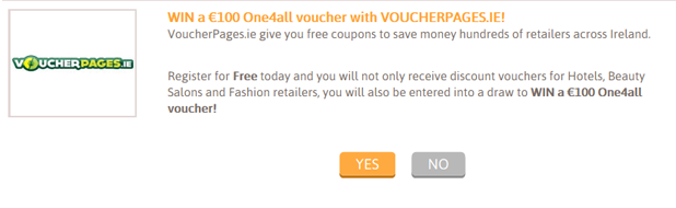 Voucherpages.ie Example