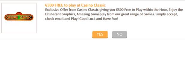 Casino Classic Example